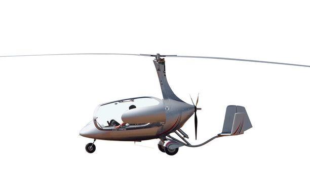 57-vuotias lentäjä ohjasti luvallista gyrokopteria. Kuvituskuva ei liity tapaukseen.