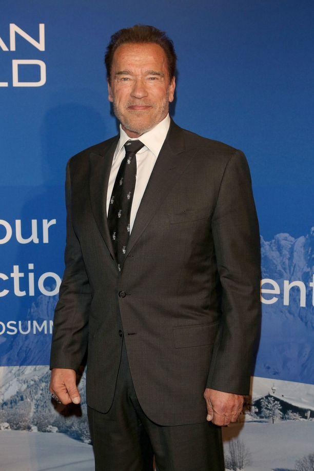 Arnold Schwarzenegger on tehnyt maineikkaan uran elokuvien parissa.