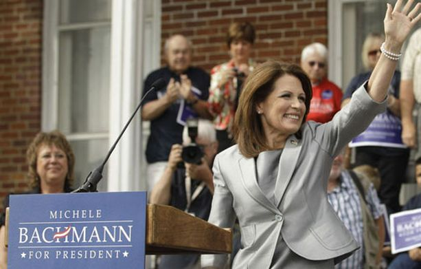 Tea Party -liike on Bachmannin takana.
