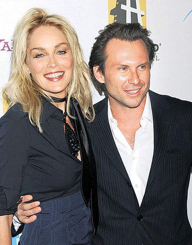 Sharon Stone ja Christian Slater löysivät toisensa elokuvan kuvauksista.