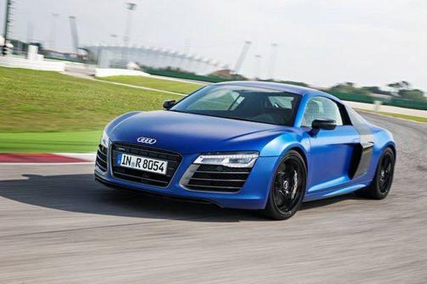 Tässä Audissa silmä lepää.