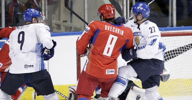 Aleksander Ovetshkinin pysäyttämiseen ei riittänyt yksi leijona.