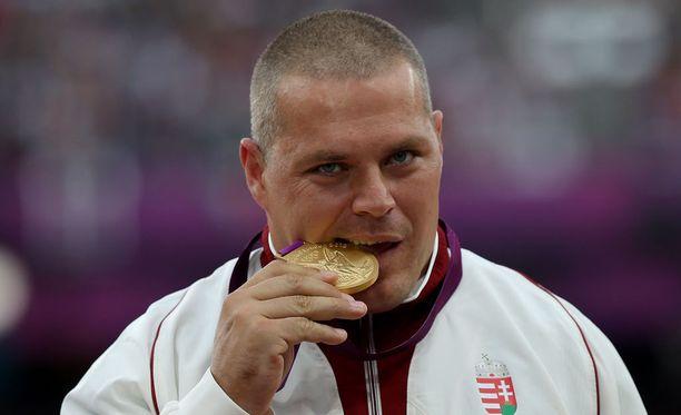 Krisztian Pars voitti moukarinheiton olympiakultaa Lontoossa.