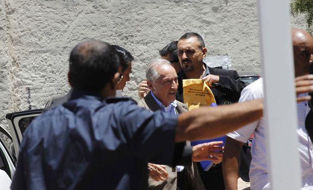 Eugenio Figueredo on asianajajan mukaan myöntänyt lahjukset.
