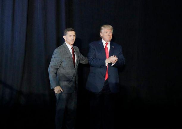 Michael Flynnia on kuvailtu Trumpin lempikenraaliksi.