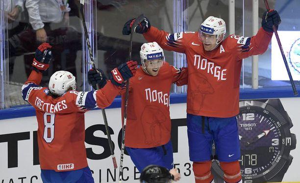 Saisiko Norja tehtyä yhden maalin Kanadaa vastaan?