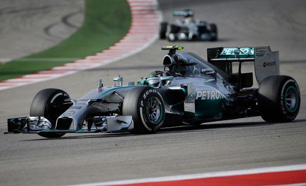 Lewis Hamilton oli jälleen omaa luokkaansa.