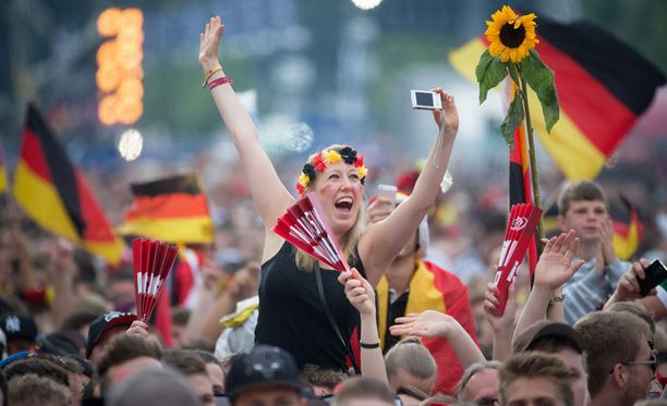 Tämä on saksalaisten juhlapäivä.