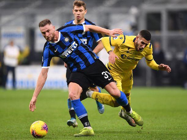 Internazionale matkustaa torstaina Veronaan.
