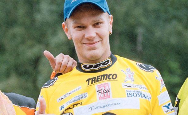 Marko Kovanen vuonna 2000.