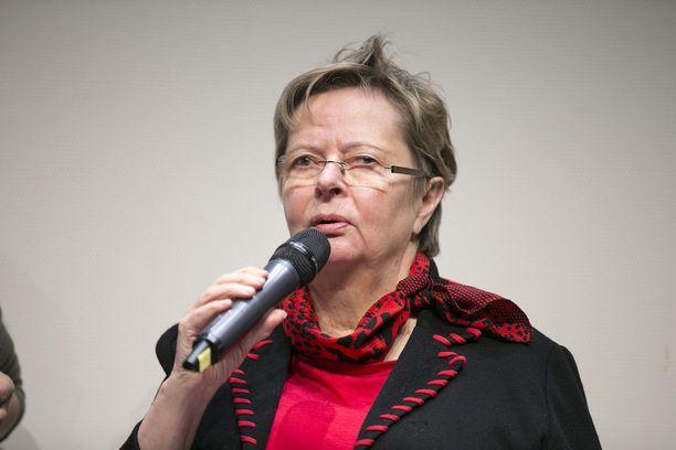 Liisa Jaakonsaari ei asetu ehdolle ensi vuoden eurovaaleissa. Viisi vuotta sitten Jaakonsaari sai eurovaaleissa 44 061 ääntä.