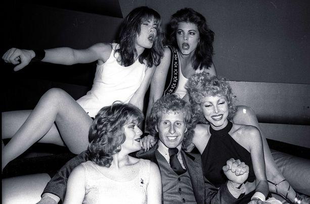 Vitas Gerulaitis oli tuttu näky New Yorkin legendaarisessa Studio 54 -yökerhossa.  Kuva on vuodelta 1978.