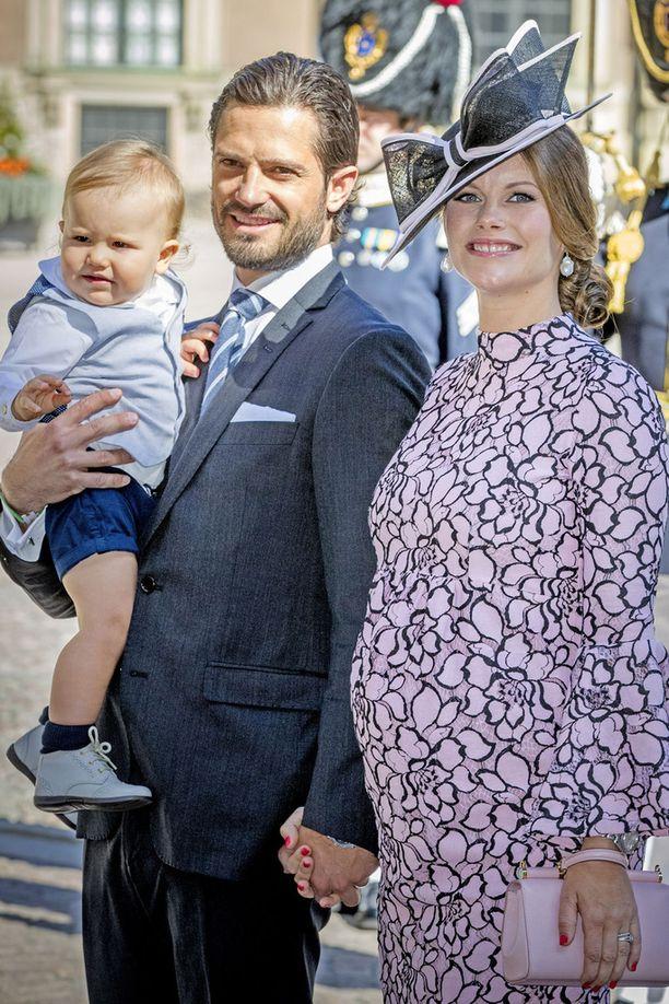 Carl Philipin ja Sofian perhe täydentyi torstaina toisella lapsella.