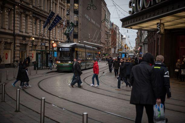 Lumeton talvi heikentää ulkoilmanlaatua muun muassa Helsingissä.