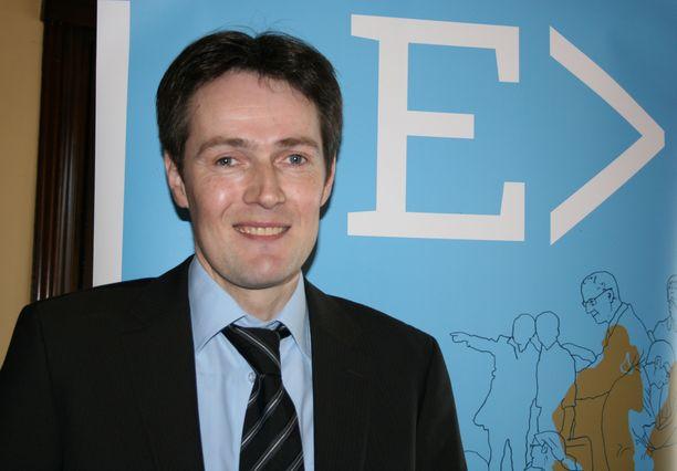ERTO:n puheenjohtaja Juri Aaltonen.