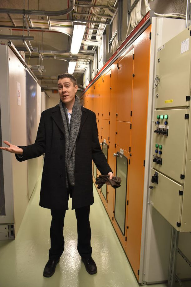 Toimitusjohtaja Sami Holopainen sanoo, että Suomessa on hyvä ilmasto datakeskuksille, mutta huono ihmisille.