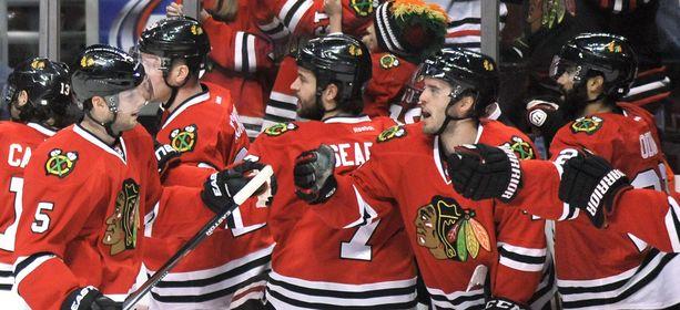 Chicago Blackhawks voitti Toronto Maple Leafsin 4-0.