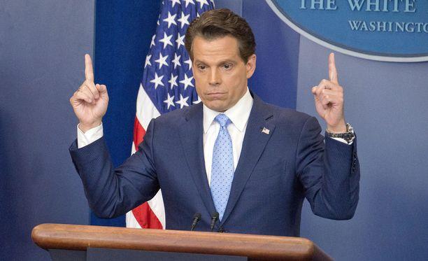 Anthony Scaramucci sai potkut Valkoisen talon viestintäjohtajan tehtävistä 10 päivän virassaolon jälkeen.