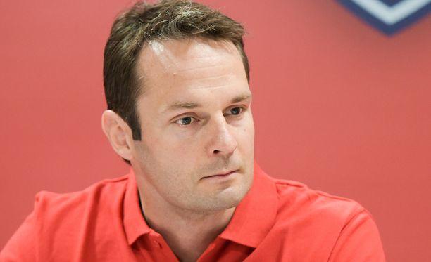 Niklas Bäckström kehui Pitsiturnauksen tunnelmaa.