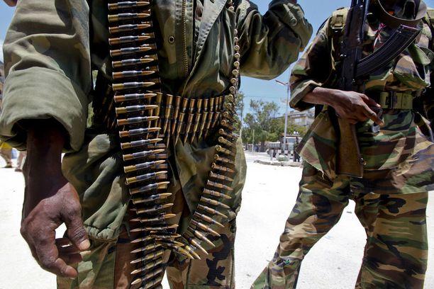 Al-Shabab noudattaa tiukkaa sharialakia. Kuvituskuva.