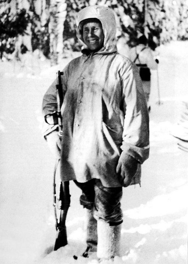 Maltti ja rauhallisuus olivat Häyhän parhaimpia luonteenpiirteitä sotilaana ampumataidon ohella.