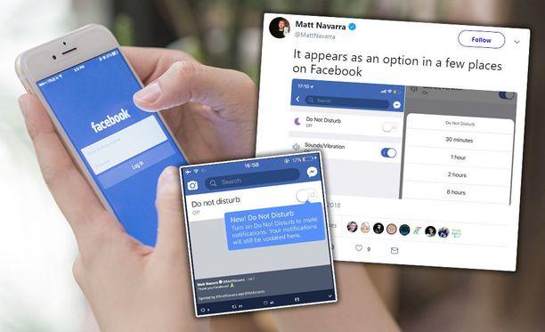 Instagram ja Facebook testaavat Älä häiritse -ominaisuutta.