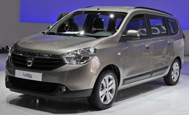 Dacia Lodgy ennättää Suomeen vasta loppuvuonna.