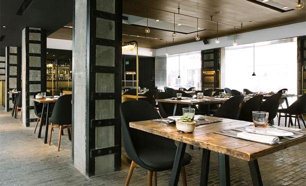 Waterhouse-hotellin ravintolaa pyörittää Michelin-tähditetty Jason Atherton.