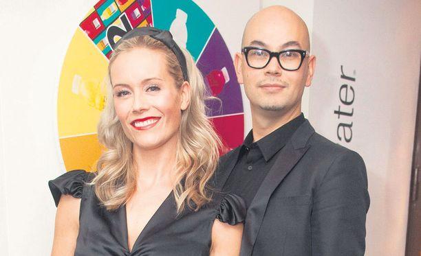 Anne Kukkohovin ja Joni-puolison poika syntyi pari kuukautta häiden jälkeen.