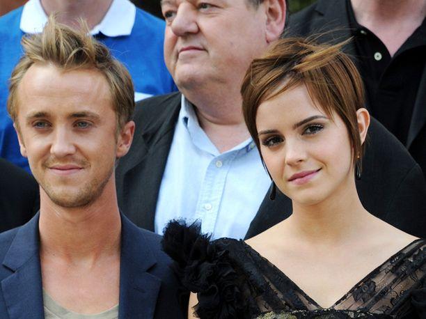 Harry Potter -tähdet Tom Felton ja Emma Watson tapasivat toisensa Los Angelesissä pitkän tauon jälkeen, ja sarjan fanit riemastuivat.