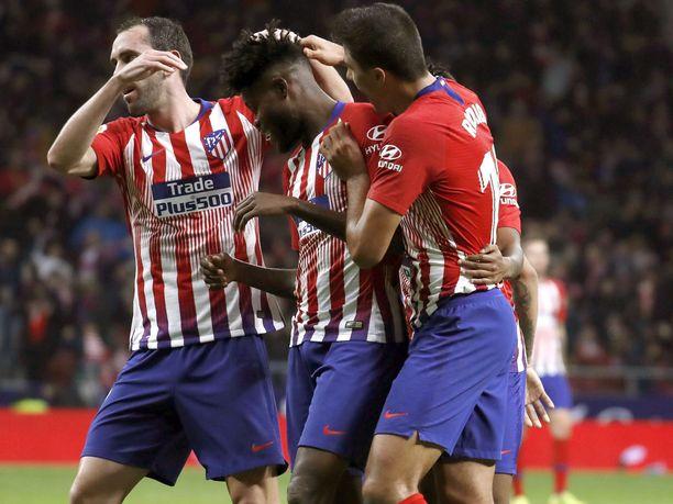 Atlético juhli voittoa komean kirin päätteeksi.