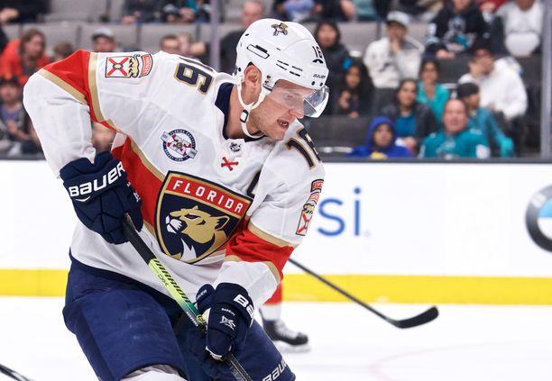 Alexander Barkov pelasi kahden pisteen ottelun Dallasia vastaan.