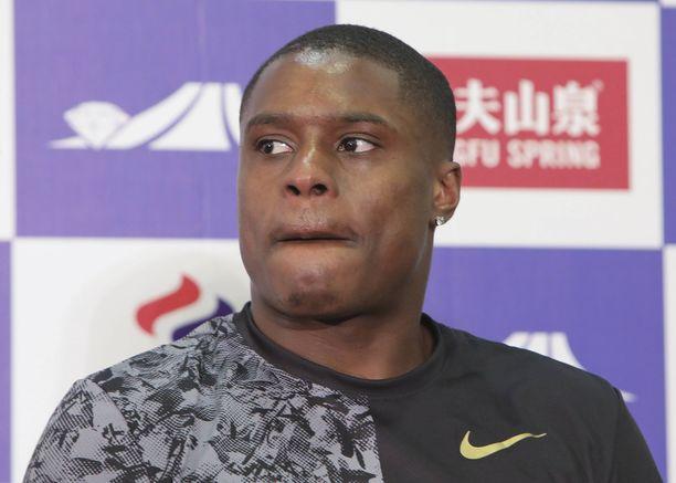 Christian Coleman hallitsee miesten 100 metrin pikajuoksua.