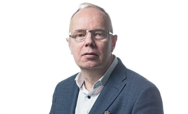 Uuden Suomen päätoimittaja Markku Huusko.
