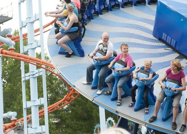 Särkänniemessä vieraili viime vuonna hieman yli 670 000 kävijää.