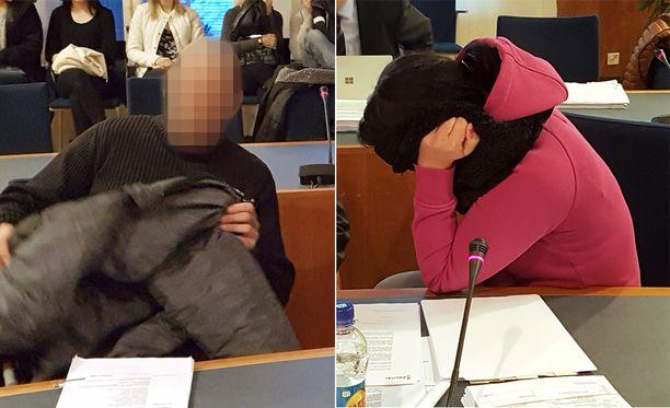 Mies ja tämän vaimo saivat syytteet käräjäoikeudessa torstaina.