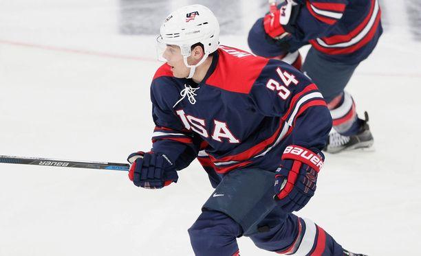 USA:n Auston Matthews on edelleen suosikki NHL:n ykkösvaraukseksi.