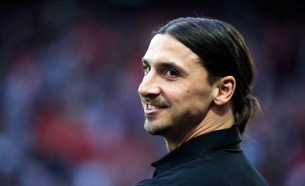 Zlatan Ibrahimovicilla meni hetki elämäkertakirjansa sulattelussa.