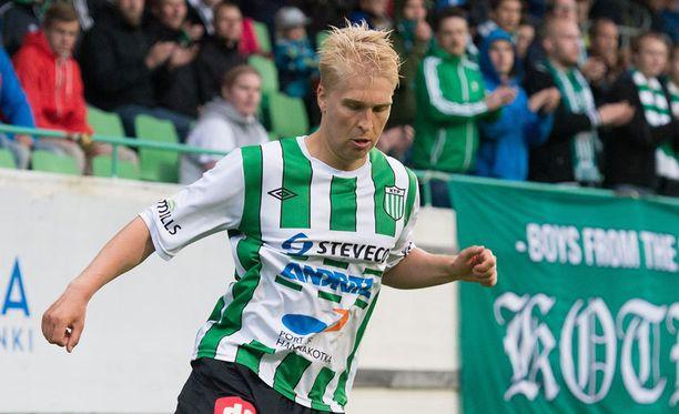 KTP:n lainatykki Jussi Aalto etenee 42 maalin tahdissa.