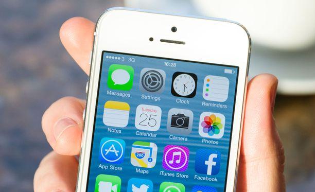 Iphone 5 julkaistiin vuonna 2012.