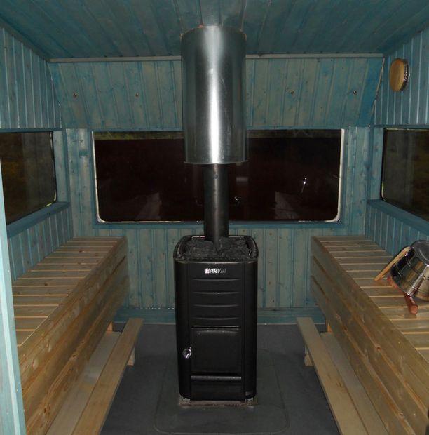 9. Liikkuva sauna