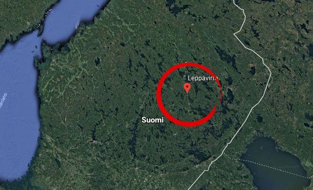 Onnettomuus tapahtui Pohjois-Savon Leppävirralla.