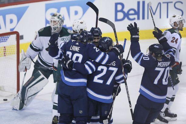 Winnipeg Jets murskasi Minnesota Wildin vitospelissä.