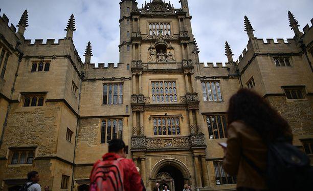 Oxfordin yliopisto nousi ensimmäistä kertaa kärkeen.
