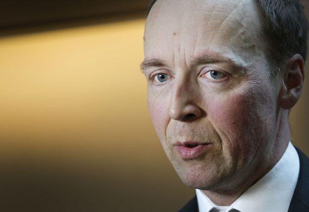 Perussuomalaisten kannatus on pompannut uusimmassa kannatusmittauksessa pari prosenttiyksikköä. Kuvassa puolueen puheenjohtaja Jussi Halla-aho.