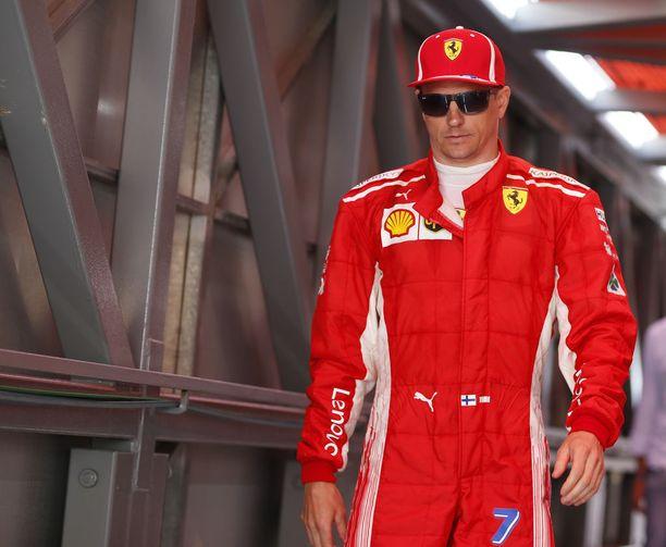 Kimi Räikkönen ajaa uransa viimeisiä vuosia formula ykkösissä. Lauantaina suomalainen ajoi Monacon aika-ajoissa nelosruutuun.