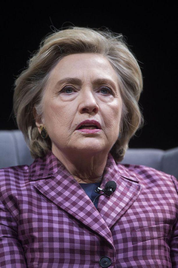 Hillary Clinton on huolissaan USA:n hallinnon toimista Pohjois-Korea-asiassa.