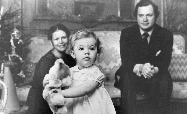 1978. Joulun viettoa vanhempien kanssa.