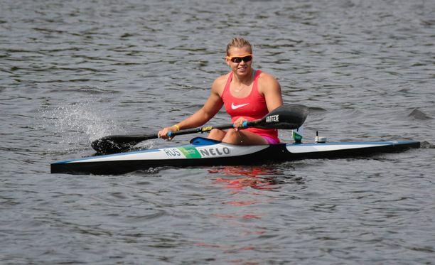 Natalia Podolskaja ei melo Riossa.