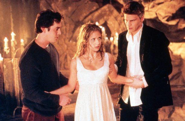 Buffy vampyyrintappaja oli suosittu teinisarja.